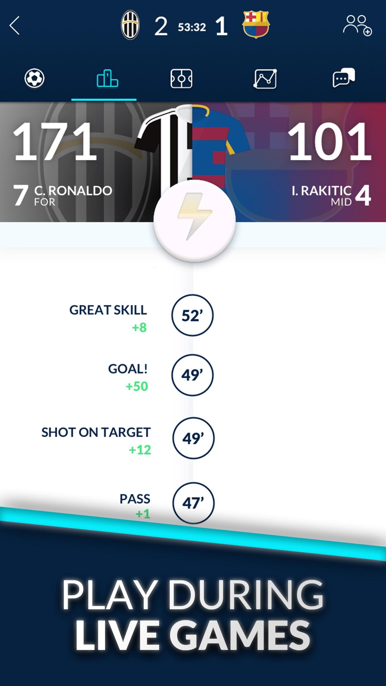 UFL Fantasy Soccer Screenshot