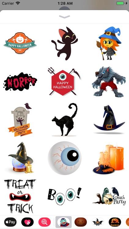 Happy Halloween Ghastly Emoji