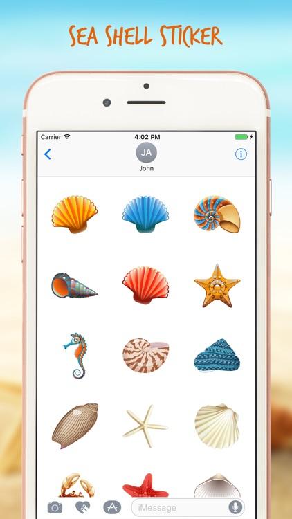 Sea Shell Life Stickers