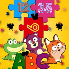 Activities of ABC Alphabet - Jigsaw puzzle!