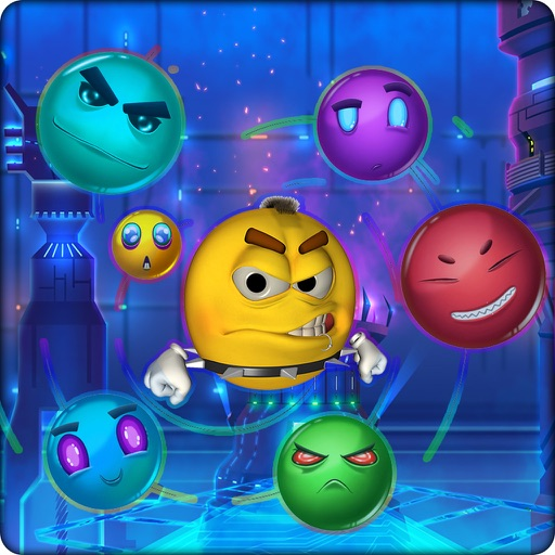 Red Ball And The Emoji