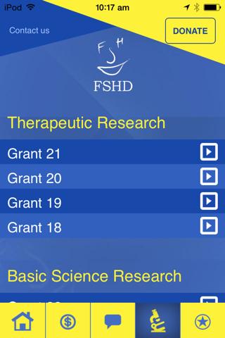 FSHD - Find the Cure screenshot 3