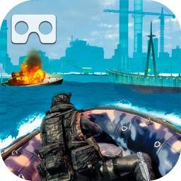 VR Commando Battleship Clash
