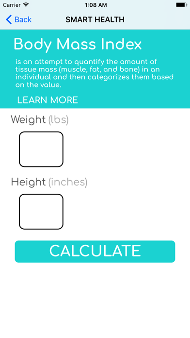 Smart Health Calculator screenshot two
