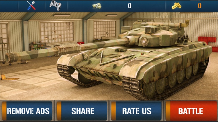 Tank War Revenge 3D screenshot-0