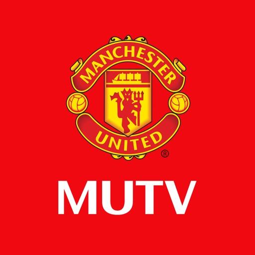 MUTV - Manchester United TV application logo