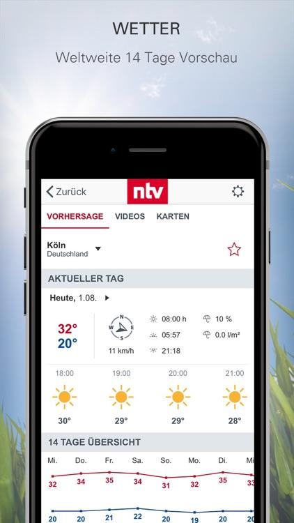 ntv Nachrichten screenshot-0