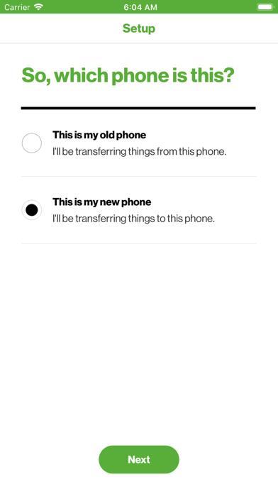 Phone Transfer screenshot 1