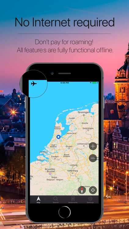 Netherlands Offline Navigation screenshot-0