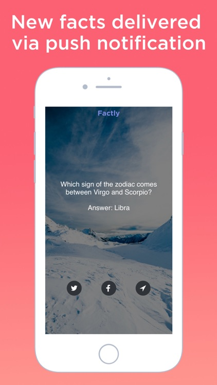 Factly - Daily random facts