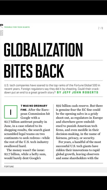 Fortune Magazine Europe screenshot-3
