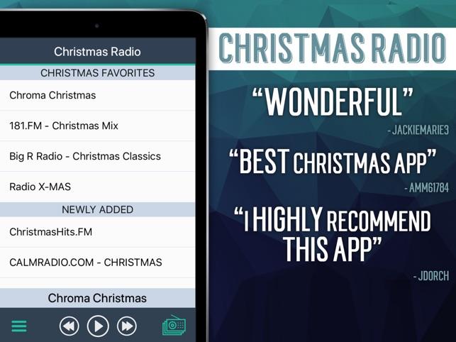 christmas radio on the app store