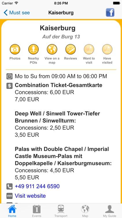 Nuremberg Travel Guide Offline screenshot-4