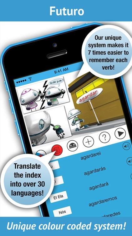 Galician Verbs - LearnBots screenshot-3