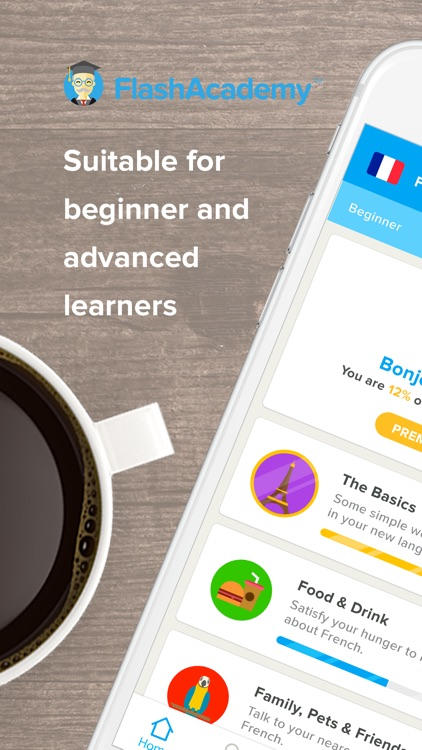 FlashAcademy Language Learning screenshot-0