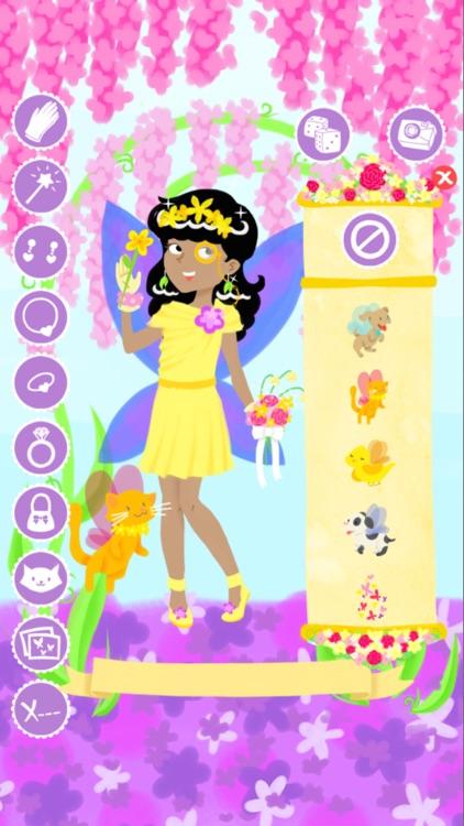 Fairy Fashion Show Dress Up Gold screenshot-3