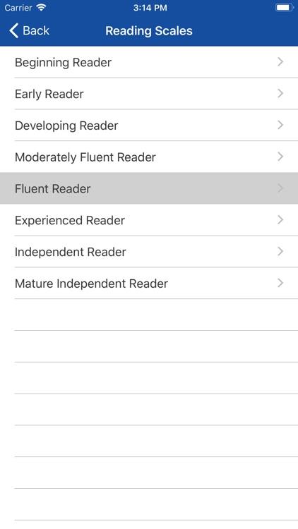 CLPE Reading & Writing Scales screenshot-4
