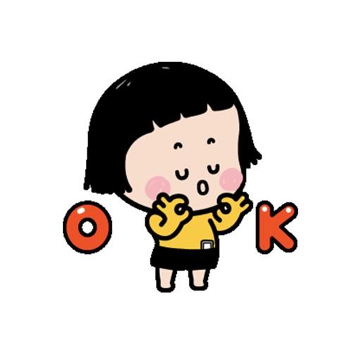 Little Girl Mimi Sticker