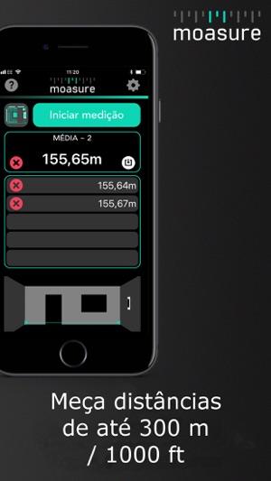 Moasure – fita métrica Screenshot