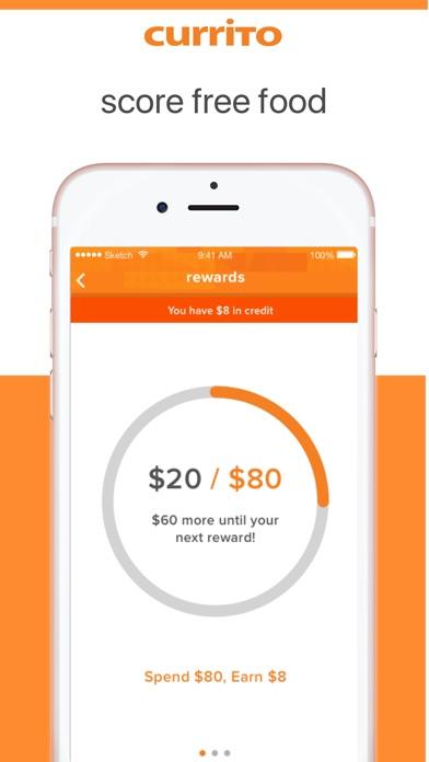 Currito Rewards screenshot 2