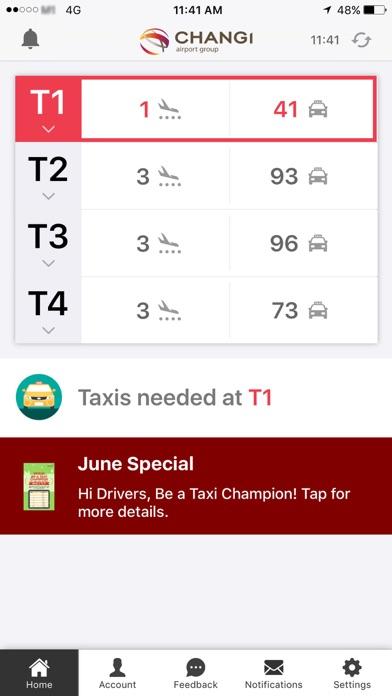 Cabs@Changi screenshot one