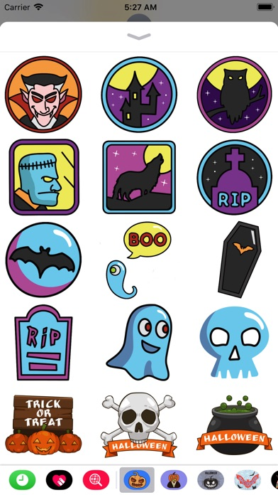 Halloween Elements Stickers screenshot 1