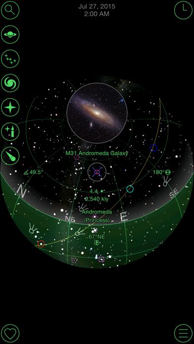 GoSkyWatch Planetarium Screenshot