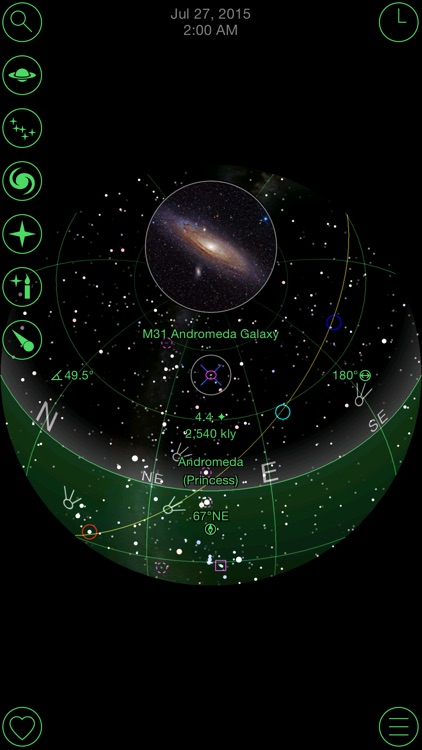 GoSkyWatch Planetarium - Astronomy Night Sky Guide screenshot-2