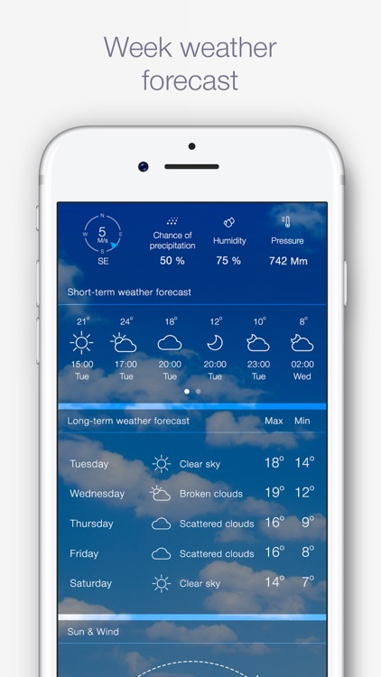 Weather for Me - Weather Forecast & Alerts