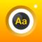 App Icon for Fotografía y traduce App in Ecuador IOS App Store