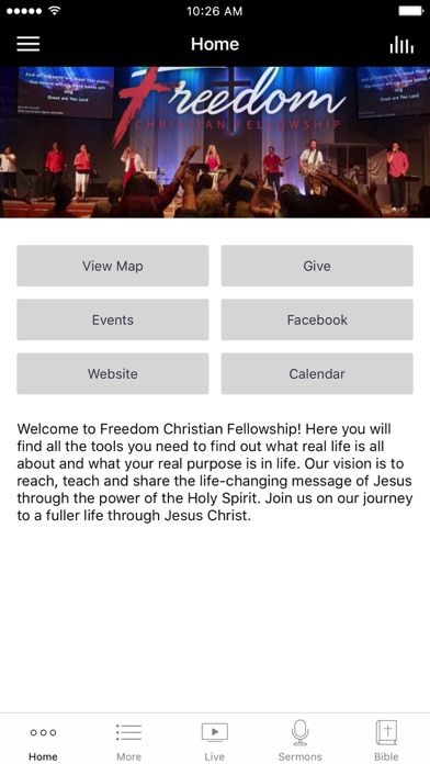 Freedom Christian Fellowship screenshot 1