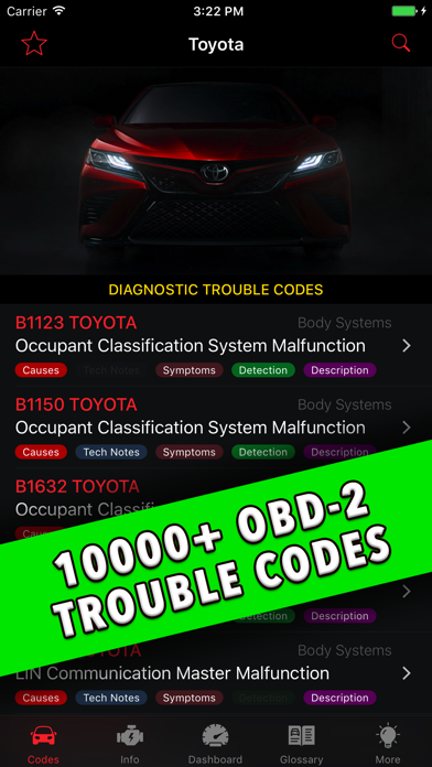 Toyota App! Screenshot