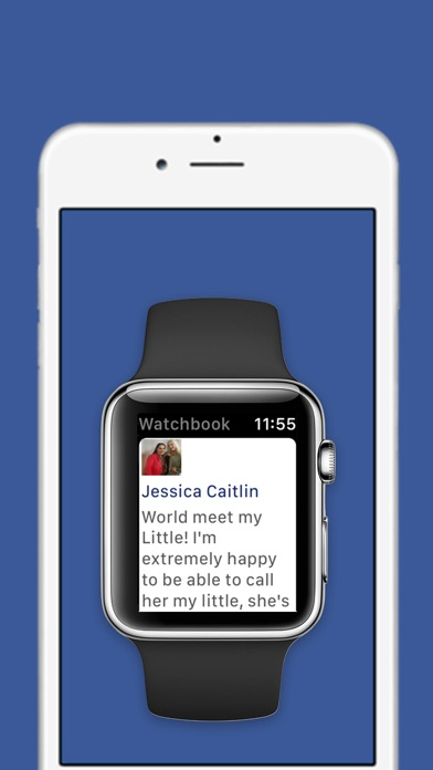 Watchbook - Watch for Facebook Screenshot 2