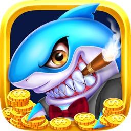 街机捕鱼机·捕鱼-真人疯狂捕鱼机游戏
