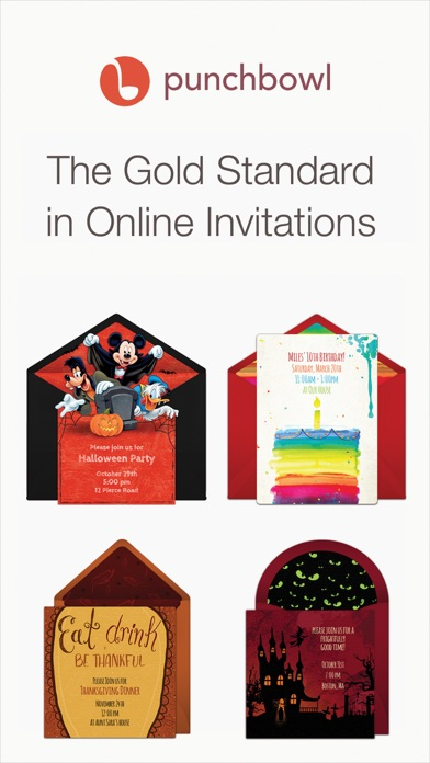 Punchbowl – Online Invitations for Windows