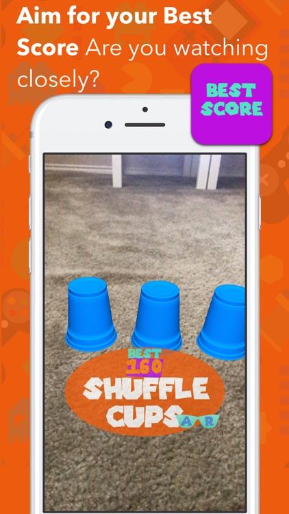 Shuffle Cups AR