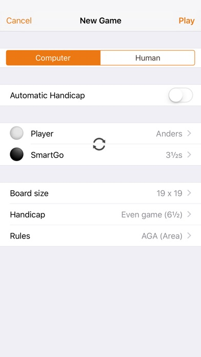 Smartgo Player review screenshots