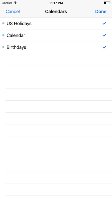 Days & Dates Screenshot 3