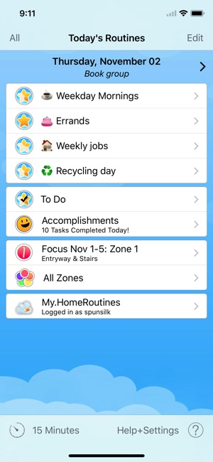 how to add a calendar to iphone home routines on the app 7343