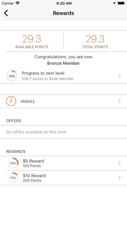 myBUONA Rewards screenshot-1