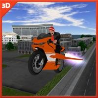 Flying Motorbike Stunt Simulation 3D