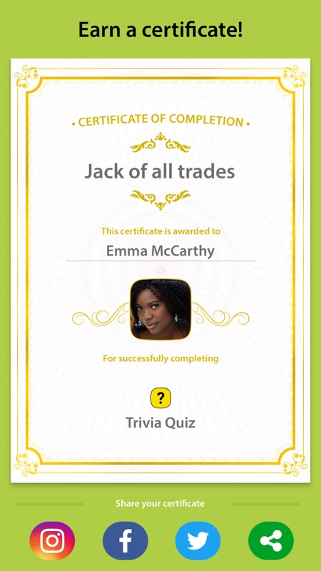 Trivia Quiz - Trivia Questions - Online Game Hack and Cheat