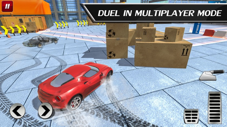 Car Drift Duels: Roof Racing screenshot-0
