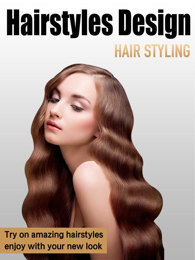 Hair Styles Design Studio On The App Store