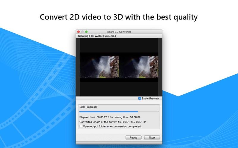 Tipard 3D转换器 - 2D to 3D