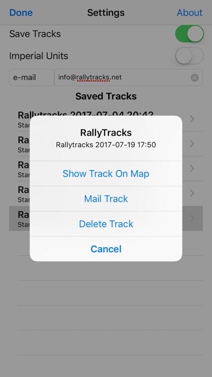 RallyTracks