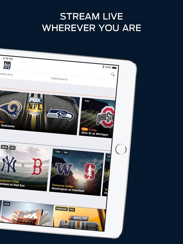 fox sports go watch live on the app store rh itunes apple com
