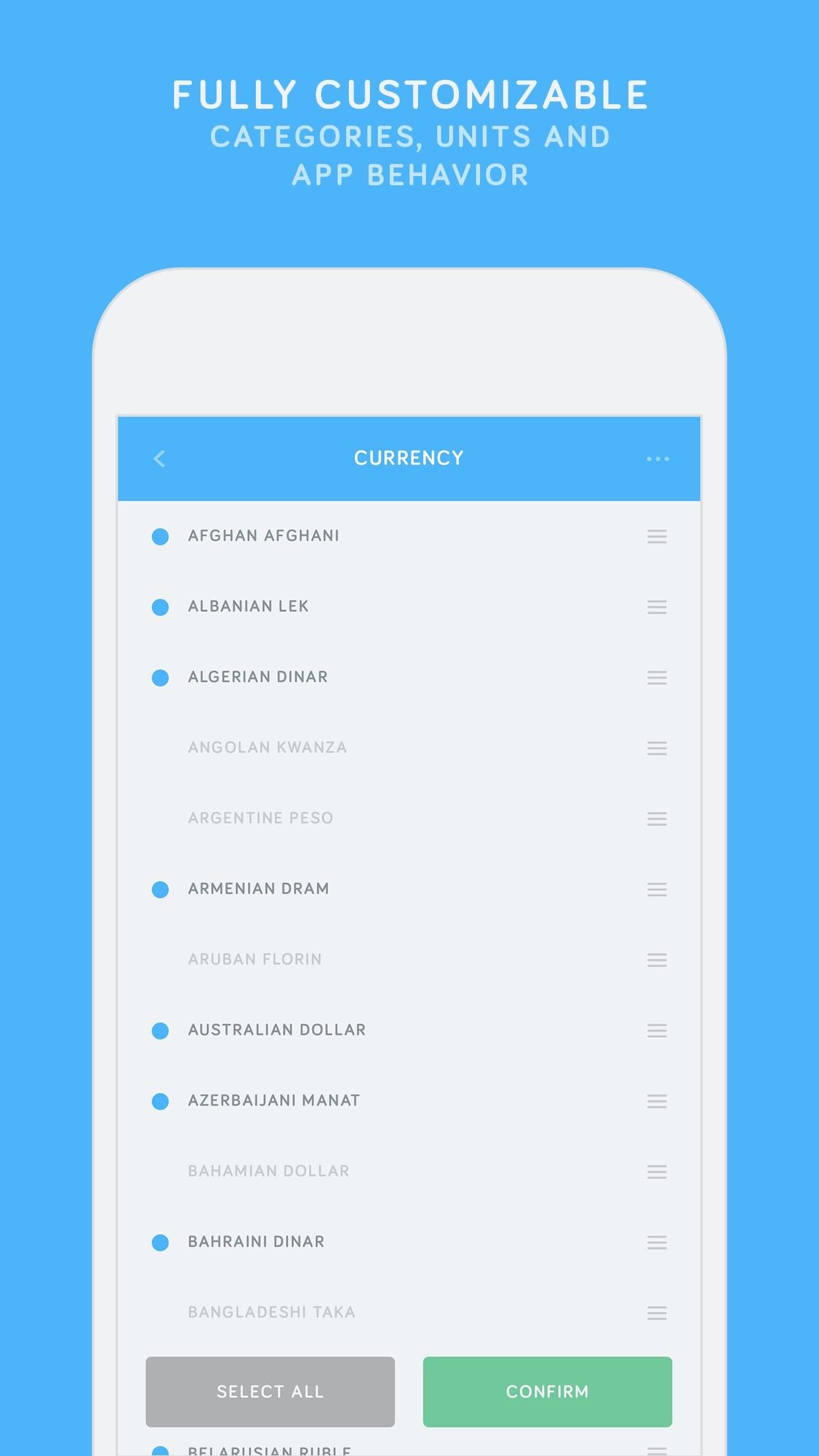 Amount Plus - Unit Converter Screenshot