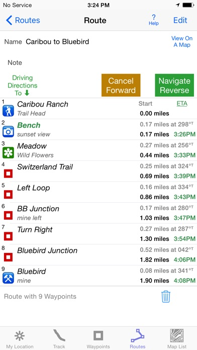I Hike Gps review screenshots