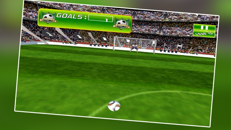 Football Kick Shot